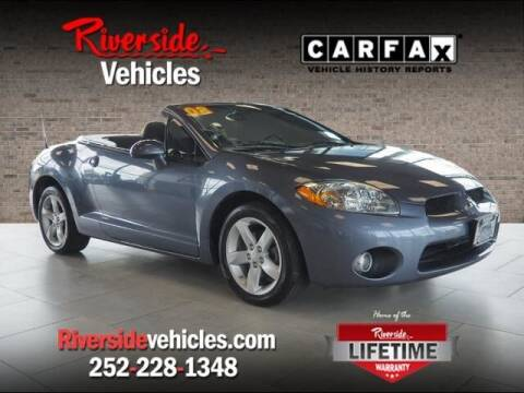 2008 Mitsubishi Eclipse Spyder for sale at Riverside Mitsubishi(New Bern Auto Mart) in New Bern NC