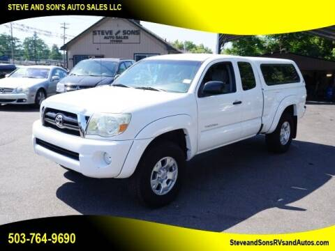 2008 Toyota Tacoma for sale at Steve & Sons Auto Sales in Happy Valley OR