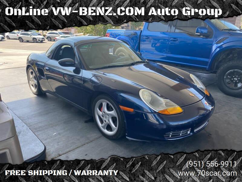 2000 Porsche Boxster for sale in Riverside, CA