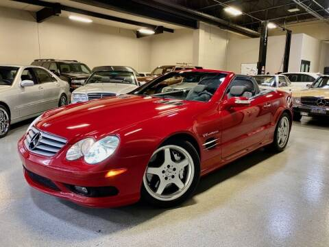 2004 Mercedes-Benz SL-Class for sale at Motorgroup LLC in Scottsdale AZ