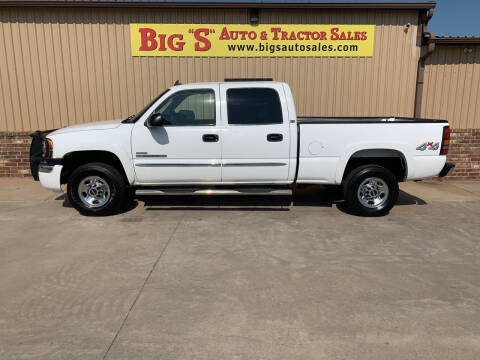 2007 GMC Sierra 2500HD Classic for sale at BIG 'S' AUTO & TRACTOR SALES in Blanchard OK