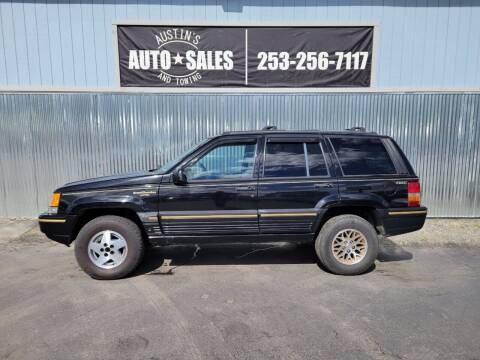 1995 Jeep Grand Cherokee for sale at Austin's Auto Sales in Edgewood WA