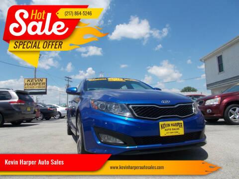 2011 Kia Optima for sale at Kevin Harper Auto Sales in Mount Zion IL
