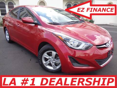 2015 Hyundai Elantra for sale at ALL STAR TRUCKS INC in Los Angeles CA