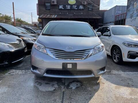 2015 Toyota Sienna for sale at TJ AUTO in Brooklyn NY