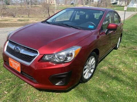 2012 Subaru Impreza for sale at GROVER AUTO & TIRE INC in Wiscasset ME