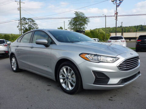 2019 Ford Fusion Hybrid for sale at Viles Automotive in Knoxville TN