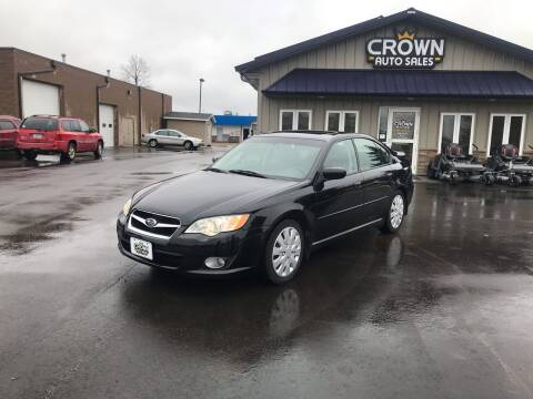 2008 Subaru Legacy for sale at Crown Motor Inc in Grand Forks ND