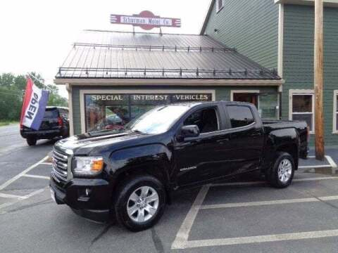 2017 GMC Canyon for sale at SCHURMAN MOTOR COMPANY in Lancaster NH