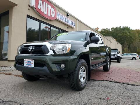2013 Toyota Tacoma for sale at Auto Wholesalers Of Hooksett in Hooksett NH