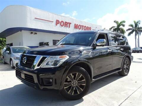 2017 Nissan Armada for sale at Automotive Credit Union Services in West Palm Beach FL