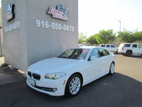 2012 BMW 5 Series for sale at LIONS AUTO SALES in Sacramento CA