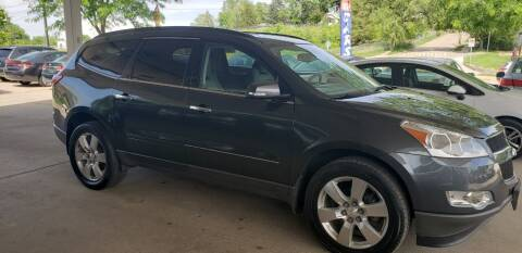 2012 Chevrolet Traverse for sale at Divine Auto Sales LLC in Omaha NE