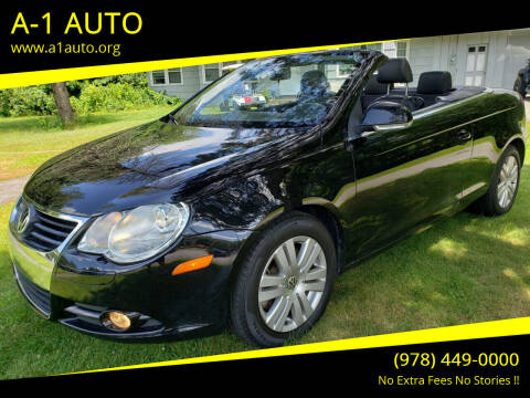 2007 Volkswagen Eos for sale at A-1 Auto in Pepperell MA