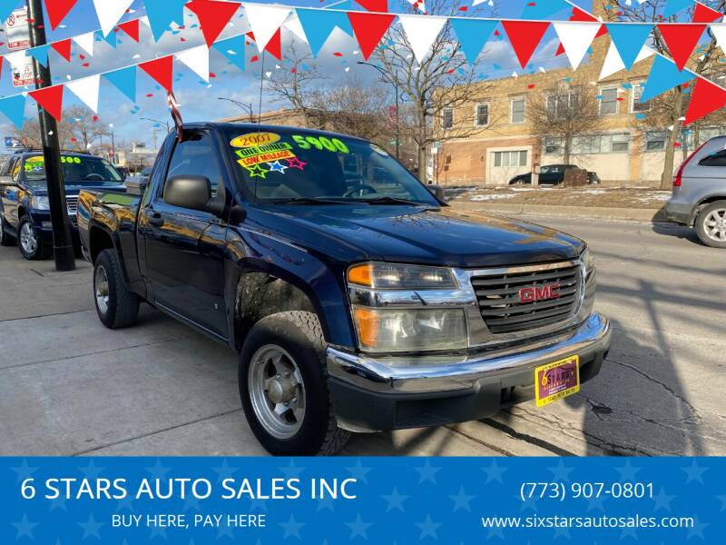 2007 GMC Canyon for sale at 6 STARS AUTO SALES INC in Chicago IL