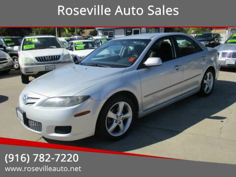 2007 Mazda MAZDA6 for sale at Roseville Auto Sales in Roseville CA