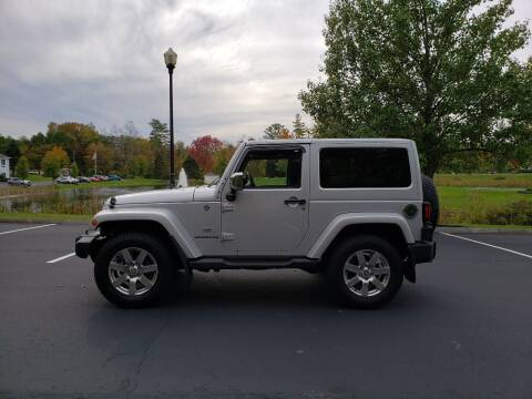 2011 Jeep Wrangler for sale at GRS Auto Sales and GRS Recovery in Hampstead NH
