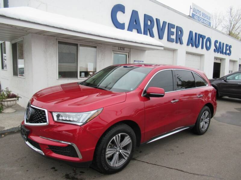 2019 Acura MDX for sale at Carver Auto Sales in Saint Paul MN