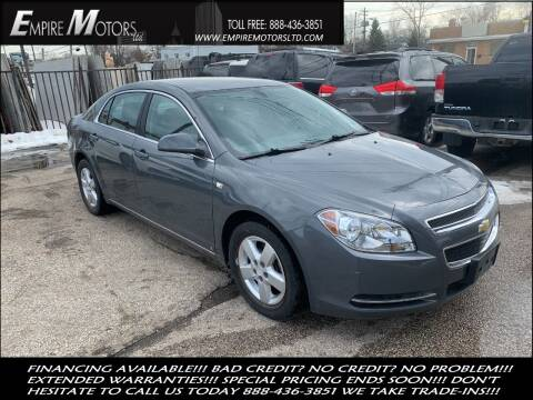 2008 Chevrolet Malibu for sale at Empire Motors LTD in Cleveland OH