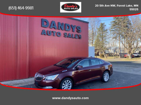 2016 Buick LaCrosse for sale at Dandy's Auto Sales in Forest Lake MN
