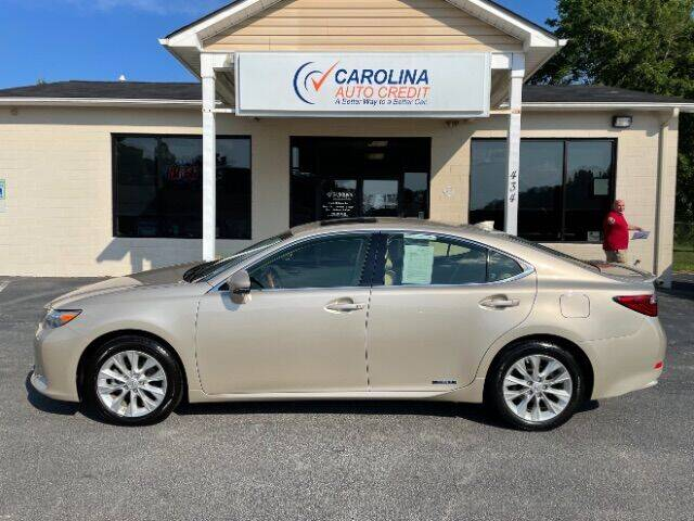 2015 Lexus ES 300h for sale at Carolina Auto Credit in Youngsville NC