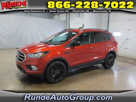 2019 Ford Escape for sale at Runde Chevrolet in East Dubuque IL
