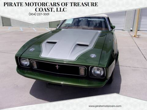 1973 Ford Mustang for sale at Pirate Motorcars Of Treasure Coast, LLC in Stuart FL