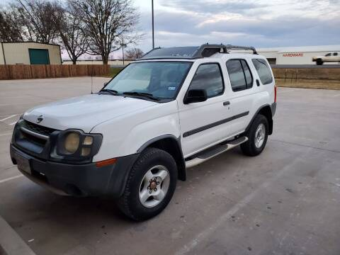 2003 Nissan Xterra for sale at CLASSIC MOTOR SPORTS in Winters TX