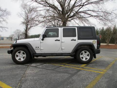 2008 Jeep Wrangler Unlimited for sale at A & P Automotive in Montgomery AL