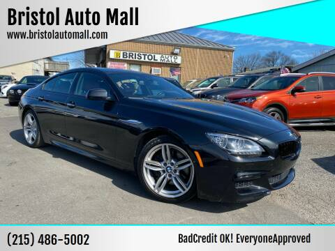 2014 BMW 6 Series for sale at Bristol Auto Mall in Levittown PA