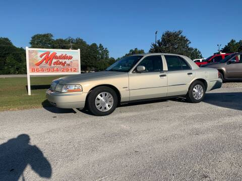 2004 Mercury Grand Marquis for sale at Madden Motors LLC in Iva SC