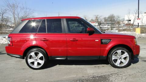 2012 Land Rover Range Rover Sport for sale at AFFORDABLE MOTORS OF BROOKLYN in Brooklyn NY