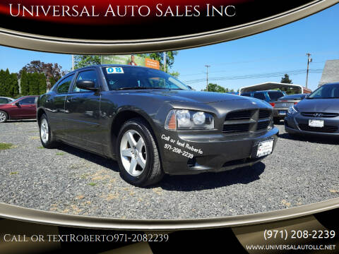 2008 Dodge Charger for sale at Universal Auto Sales Inc in Salem OR
