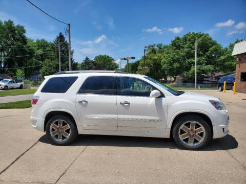 2012 GMC Acadia for sale at RIVERSIDE AUTO SALES in Sioux City IA