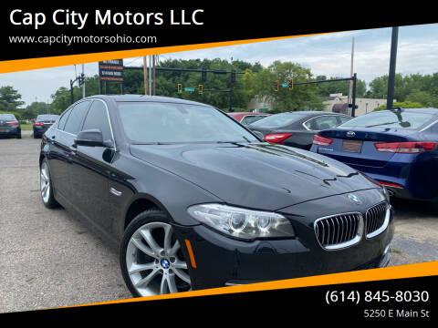 2014 BMW 5 Series for sale at Cap City Motors LLC in Columbus OH