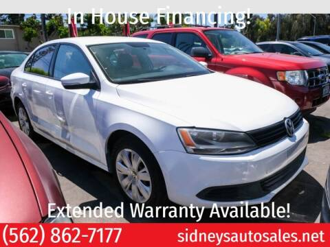 2014 Volkswagen Jetta for sale at Sidney Auto Sales in Downey CA