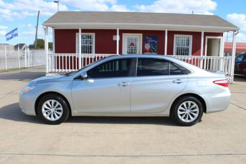 2015 Toyota Camry for sale at AMT AUTO SALES LLC in Houston TX