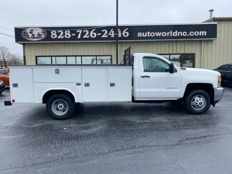 2015 Chevrolet Silverado 3500HD for sale at AutoWorld of Lenoir in Lenoir NC