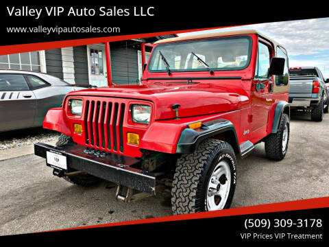 1995 Jeep Wrangler for sale at Valley VIP Auto Sales LLC in Spokane Valley WA