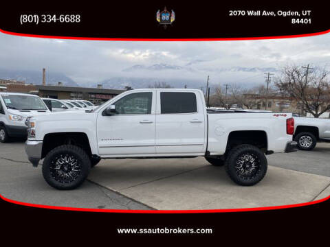 2018 Chevrolet Silverado 1500 for sale at S S Auto Brokers in Ogden UT