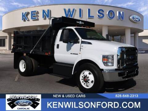 2019 Ford F-750 Super Duty for sale at Ken Wilson Ford in Canton NC