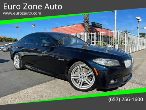 2014 BMW 5 Series for sale at Euro Zone Auto in Stanton CA