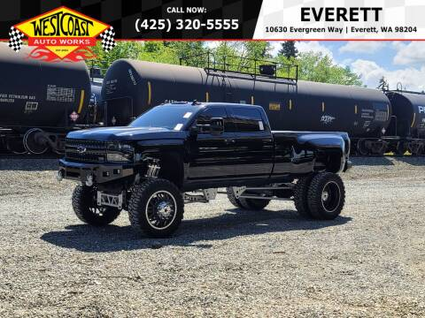 2015 Chevrolet Silverado 3500HD for sale at West Coast Auto Works in Edmonds WA