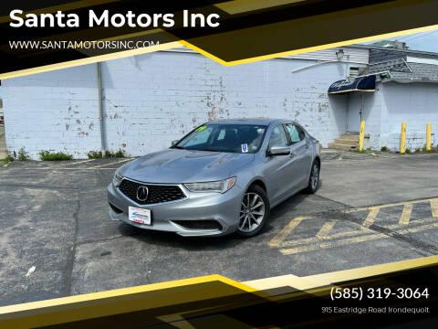 2019 Acura TLX for sale at Santa Motors Inc in Rochester NY