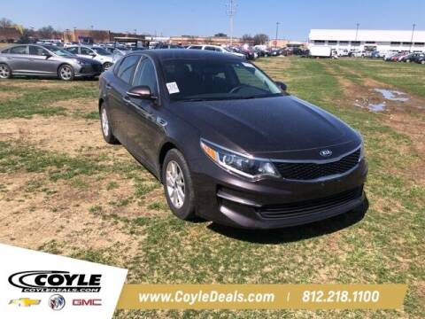 2018 Kia Optima for sale at COYLE GM - COYLE NISSAN - New Inventory in Clarksville IN