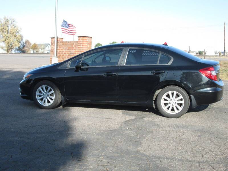 2012 Honda Civic for sale at STEVES ROLLIN STONE AUTO SALES in Eaton CO