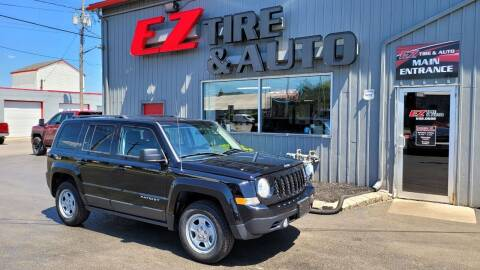 2013 Jeep Patriot for sale at EZ Tire & Auto in North Tonawanda NY