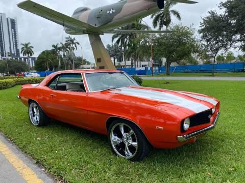 1969 Chevrolet Camaro for sale at BIG BOY DIESELS in Fort Lauderdale FL