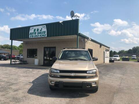 2004 Chevrolet TrailBlazer for sale at B & J Auto Sales in Auburn KY