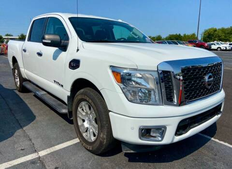 2017 Nissan Titan for sale at Midwest Autopark in Kansas City MO